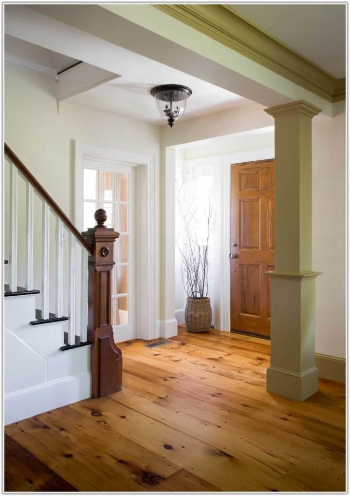 Reclaimed Wide Plank Pine Flooring