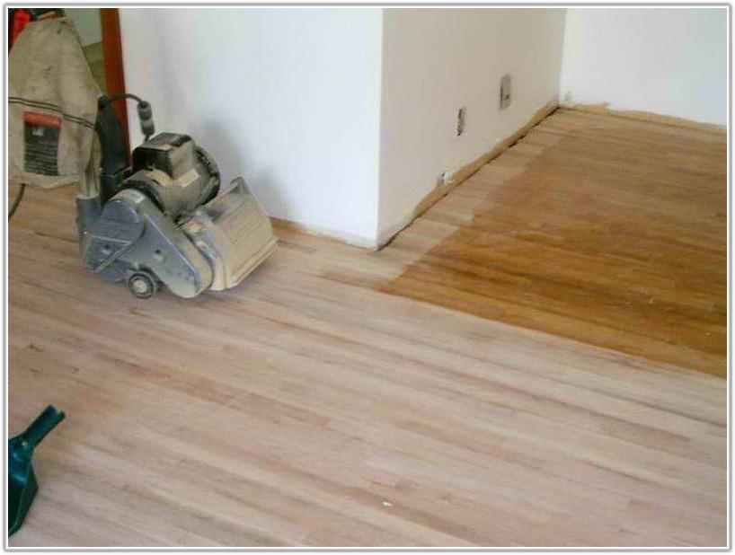 Refinish Hardwood Floors Without Sanding