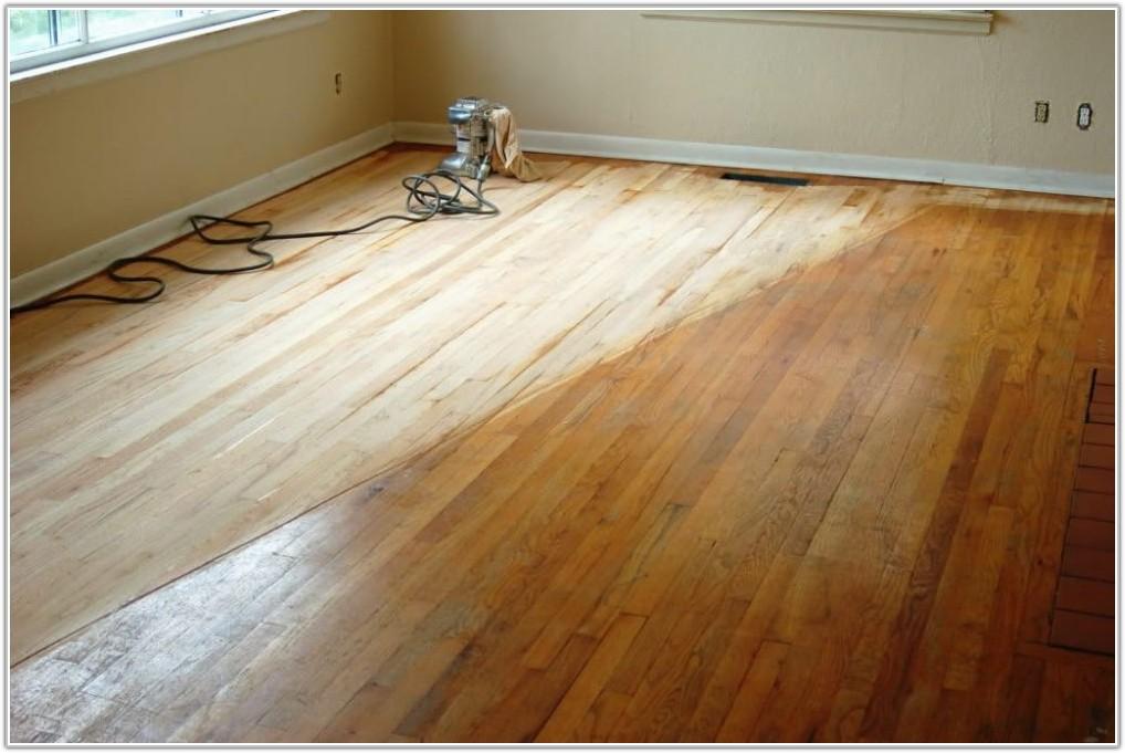 Refinishing A Hardwood Floor