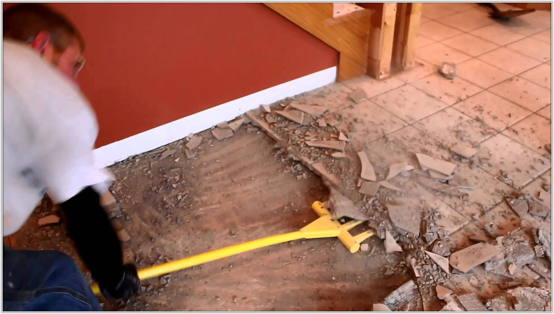 Removing Ceramic Floor Tile From Cement Board