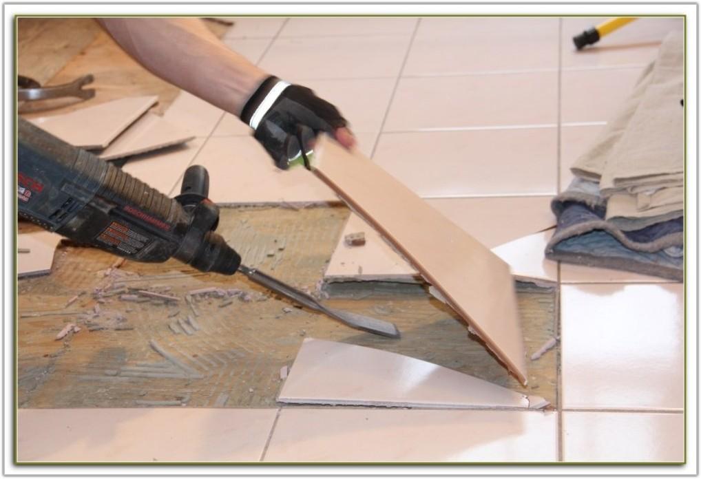 Removing Ceramic Floor Tiles From Concrete