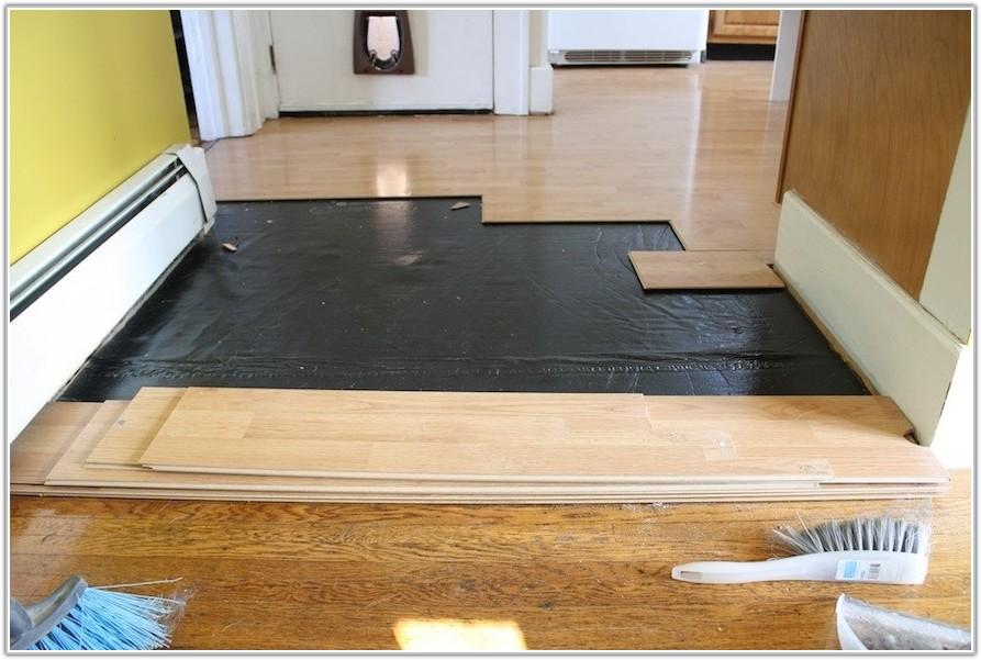 Removing Laminate Flooring Glued To Concrete
