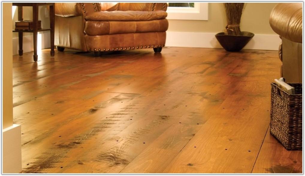 Rustic Wide Plank Wood Flooring