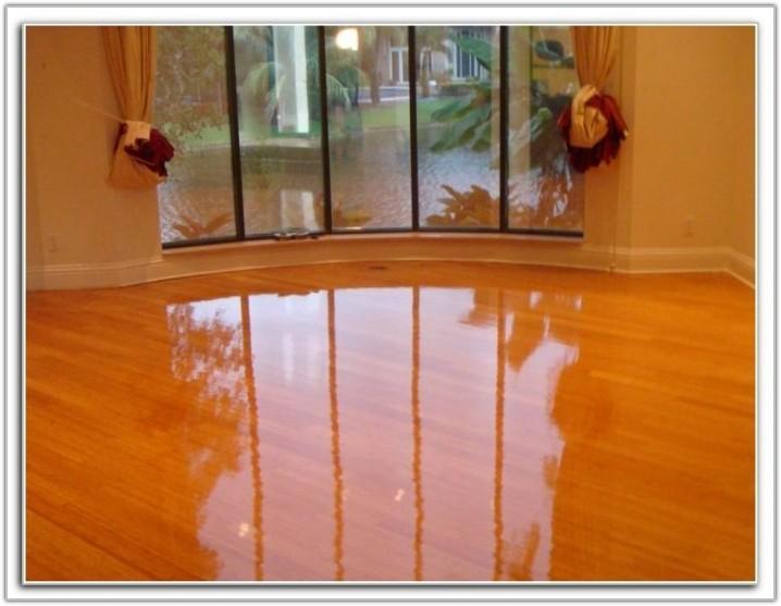 Sanding A Hardwood Floor With Orbital Sander