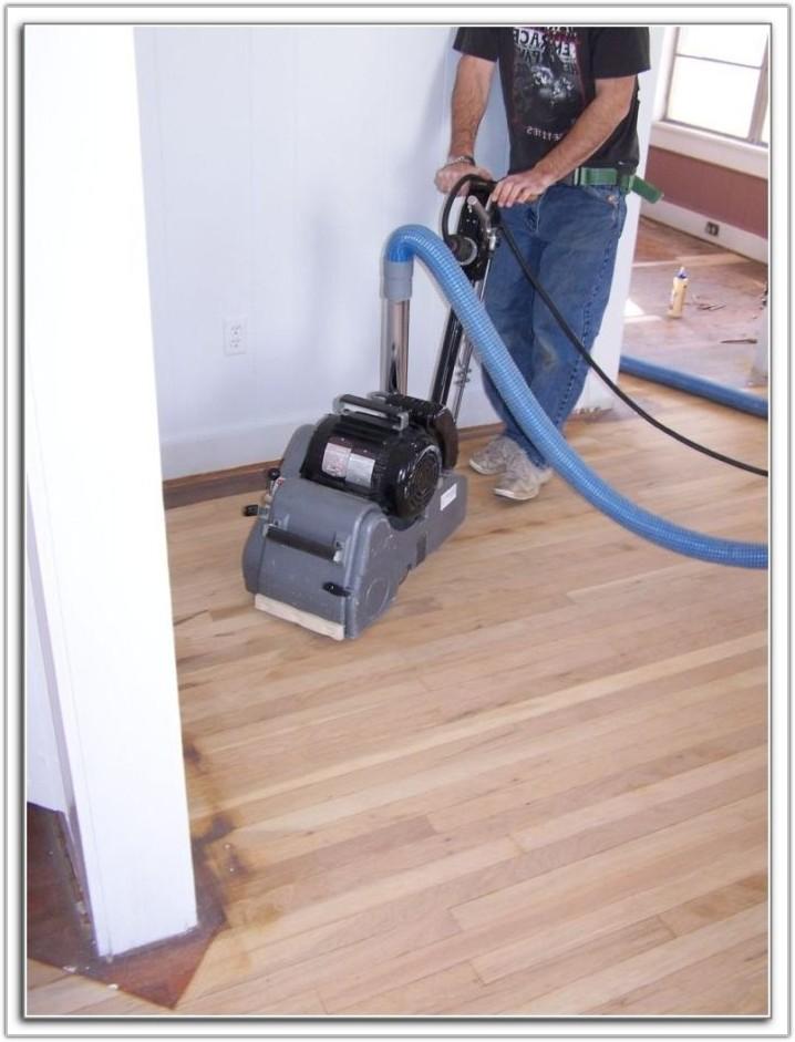 Sanding A Hardwood Floor
