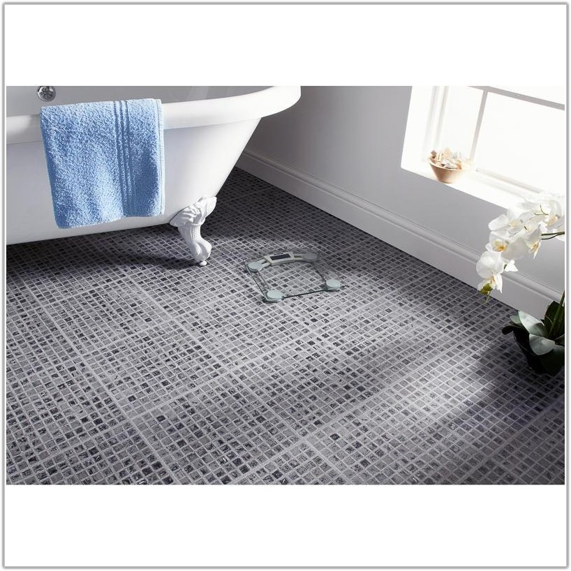 Self Adhesive Floor Tiles Grey