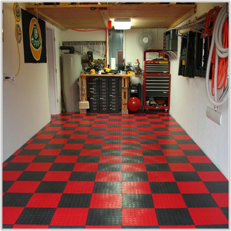 Snap Together Garage Flooring Tiles