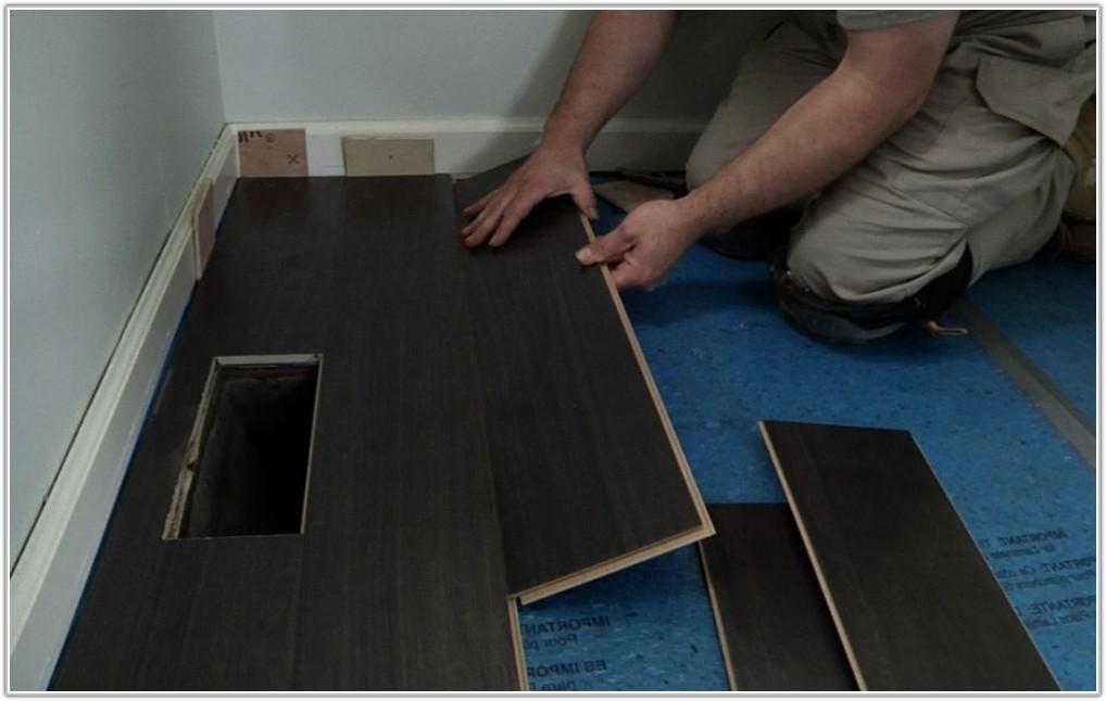 Snap Together Laminate Flooring