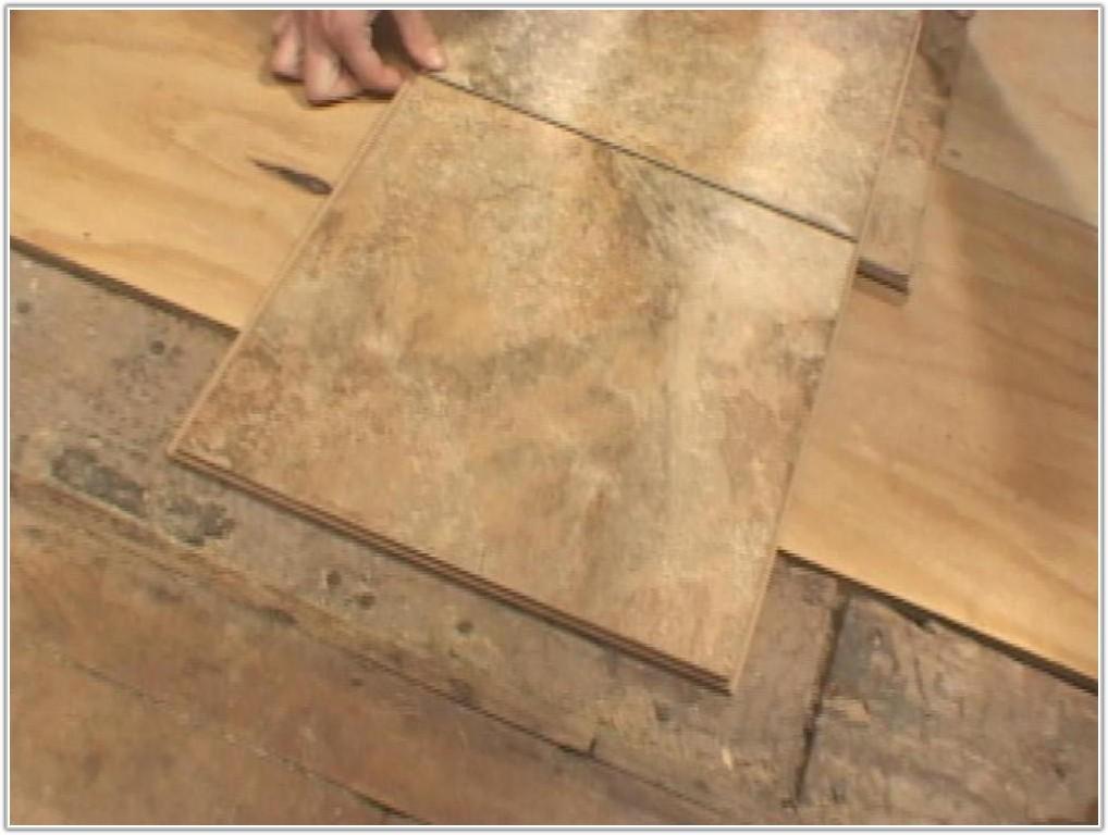 Snap Together Tile Flooring