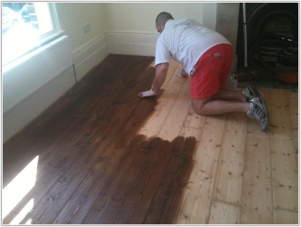 Staining Maple Hardwood Floors Dark