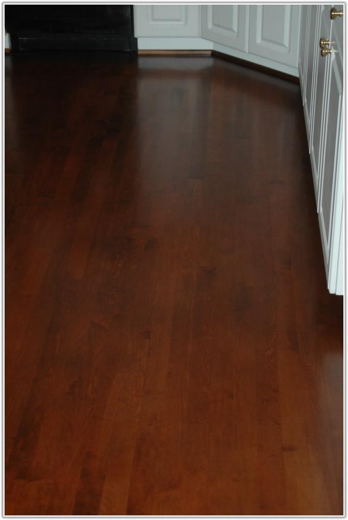Staining Maple Hardwood Floors