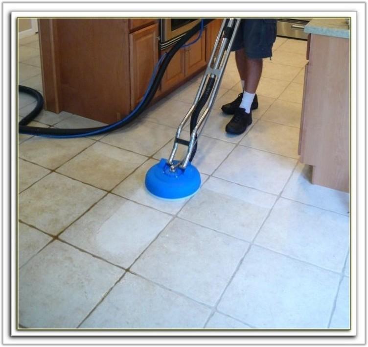Steam Clean Tile Floors
