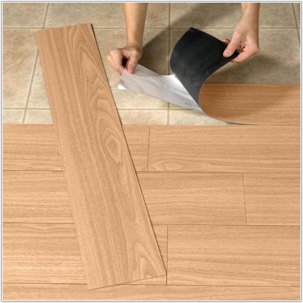 Stick On Tiles Floor