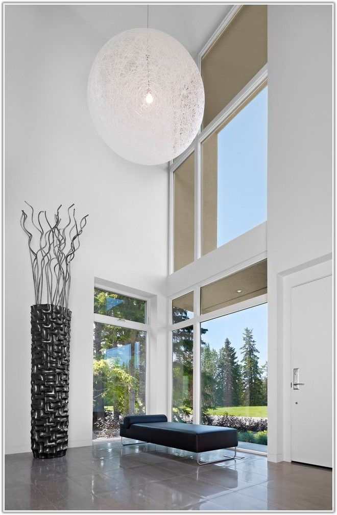 Tall Glass Floor Vases