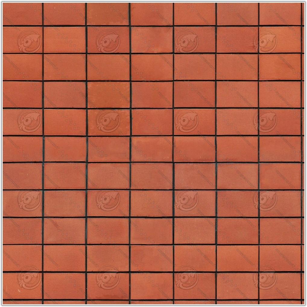 Terracotta Floor Tiles Texture