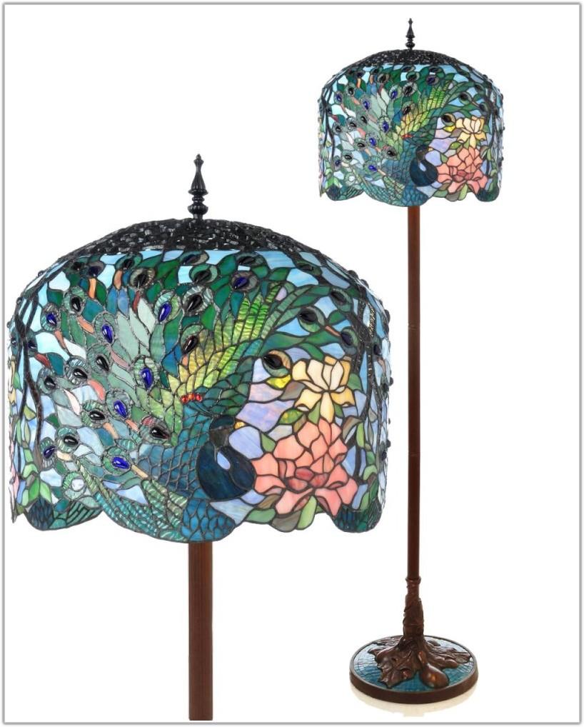Tiffany Style Floor Lamps