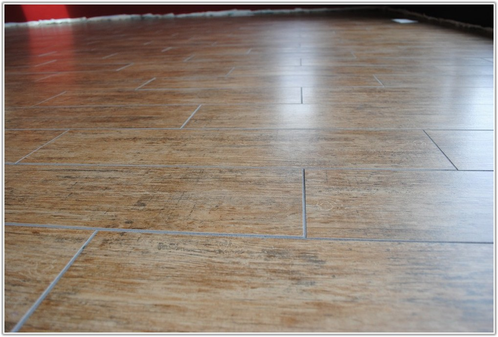 Tile Floor Wood Pattern