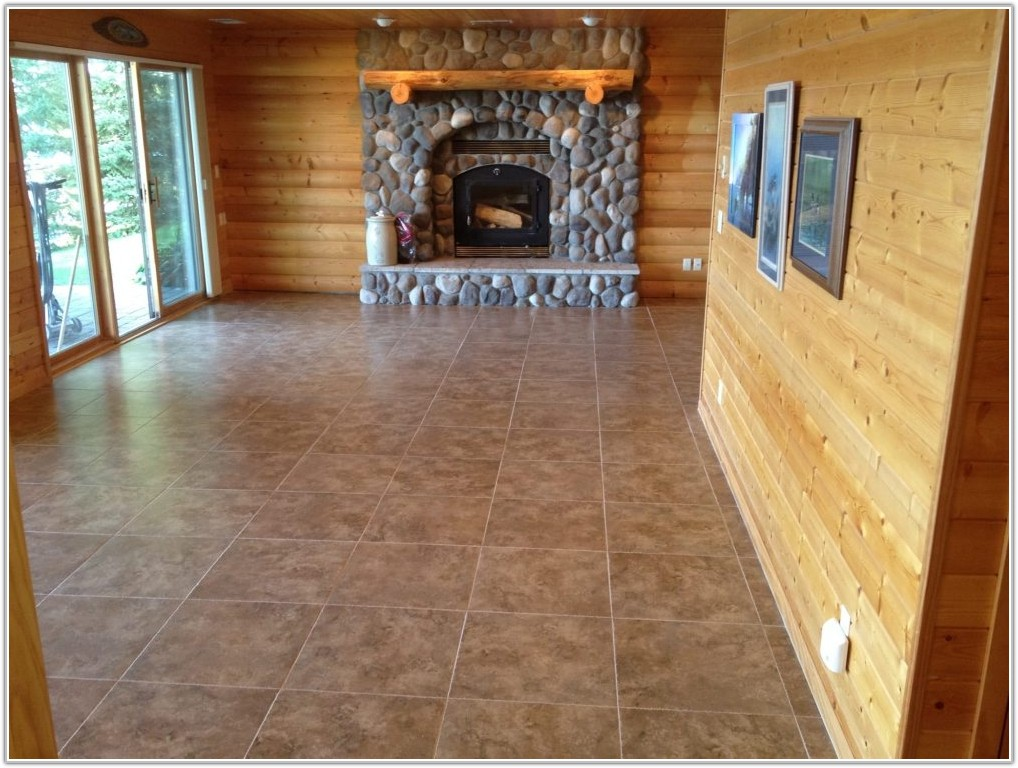 Tiling A Basement Floor