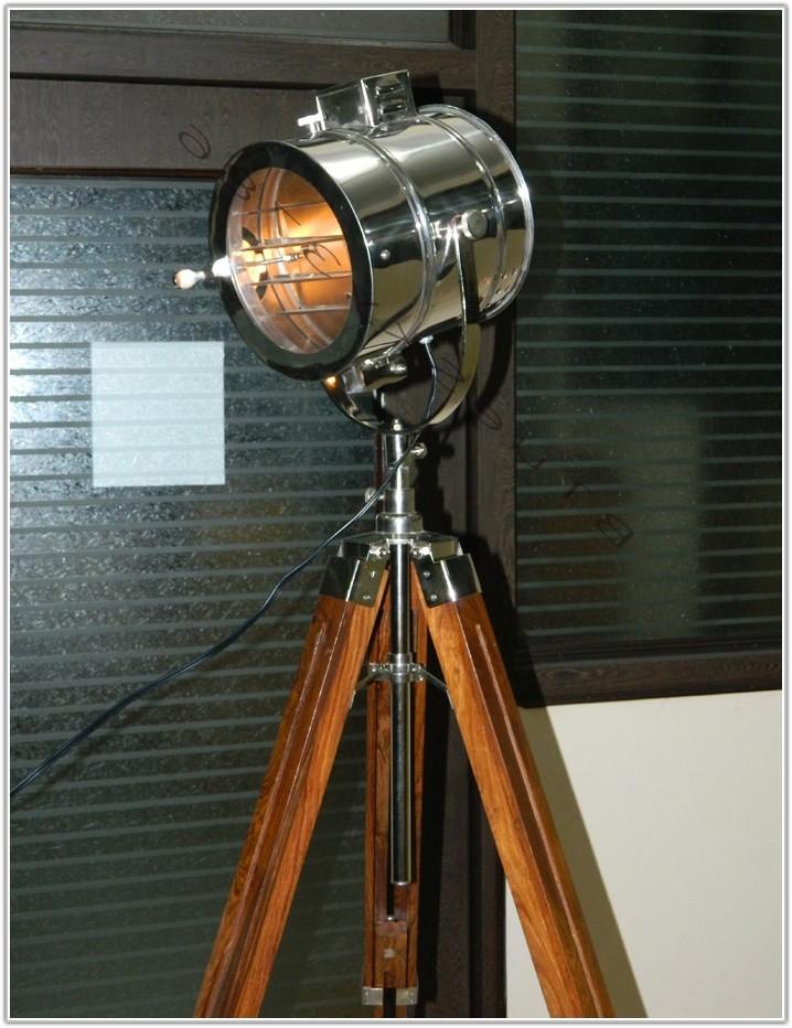 Tripod Studio Floor Lamp