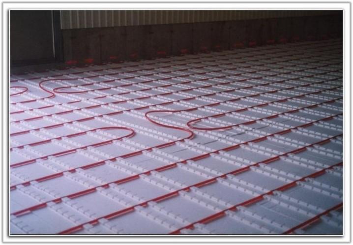 Under Floor Radiant Heat Insulation