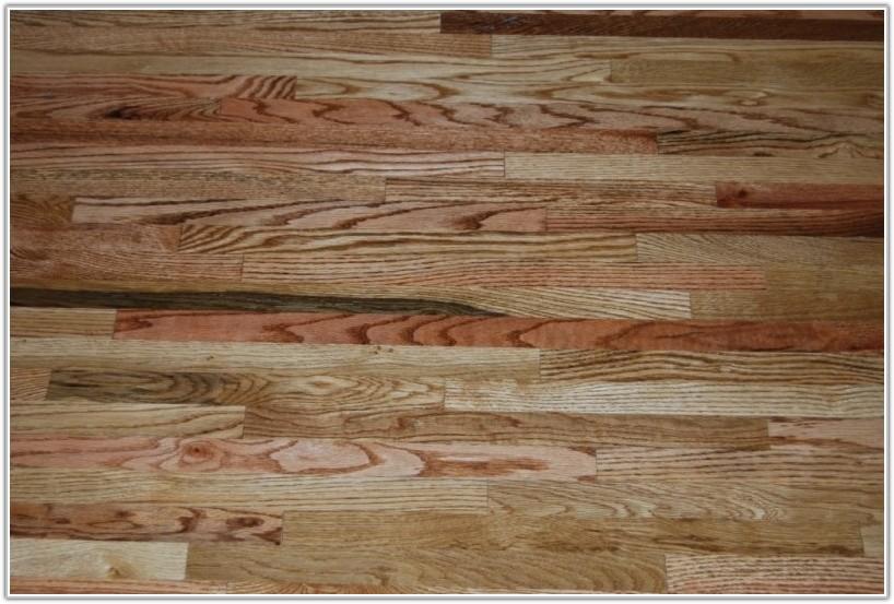 Unfinished Red Oak Flooring Grades