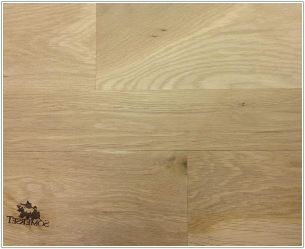 Unfinished White Oak Hardwood Flooring