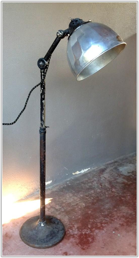 Vintage Medical Floor Lamp