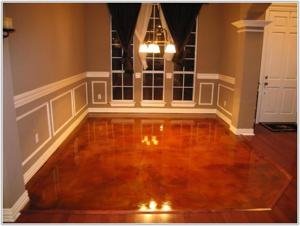 Water Based Floor Stain