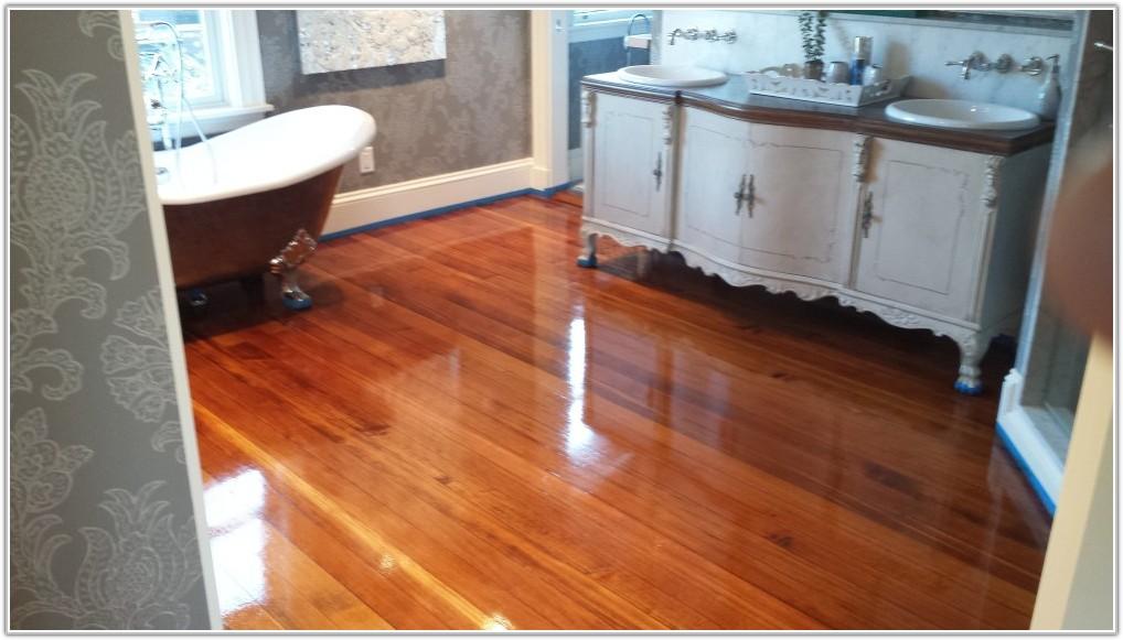 Water Based Hardwood Floor Finish