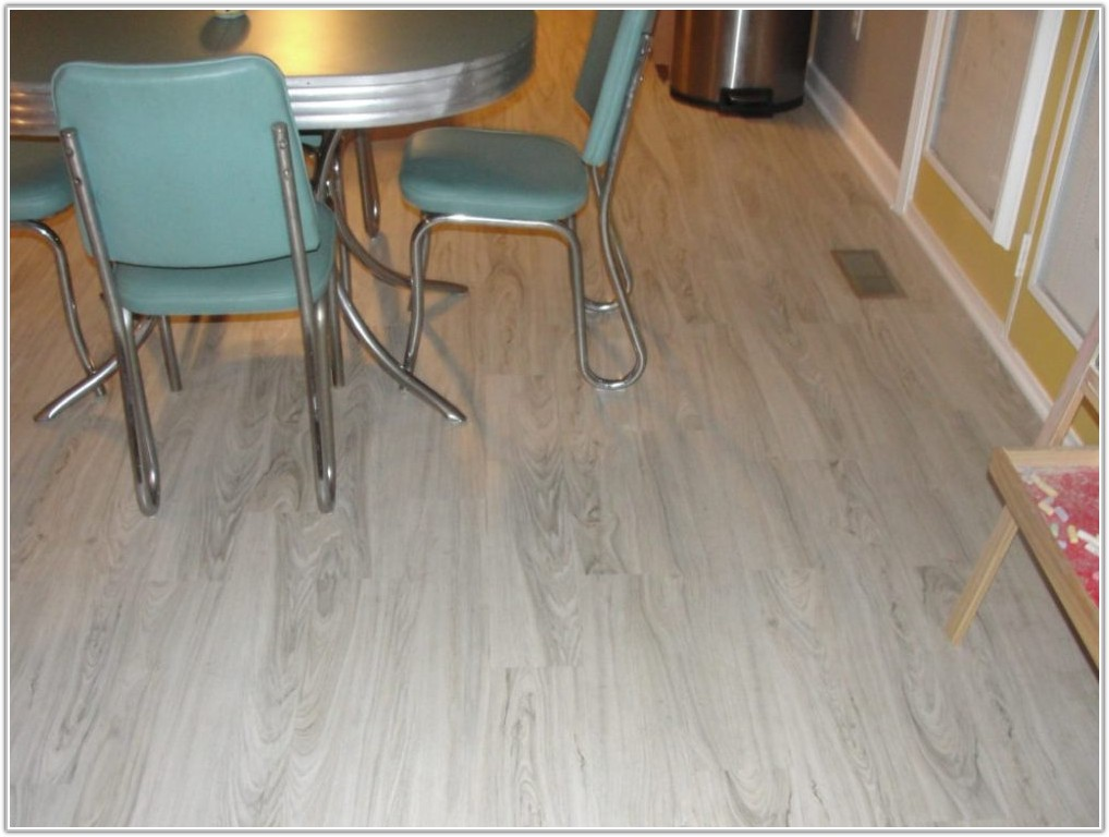 White Maple Resilient Vinyl Plank Flooring