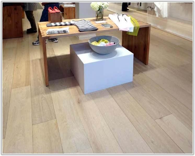 White Oak Wide Plank Engineered Flooring