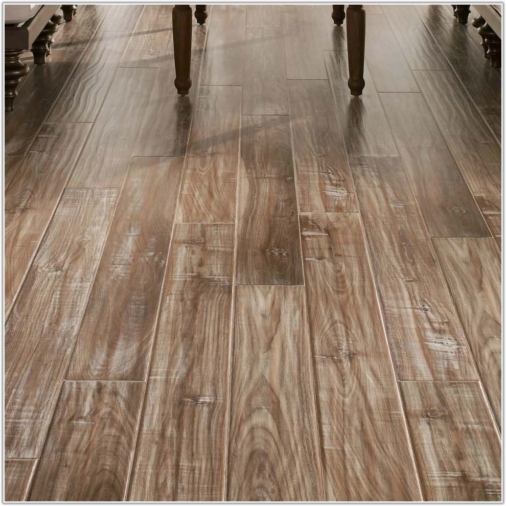 White Washed Laminate Wood Flooring