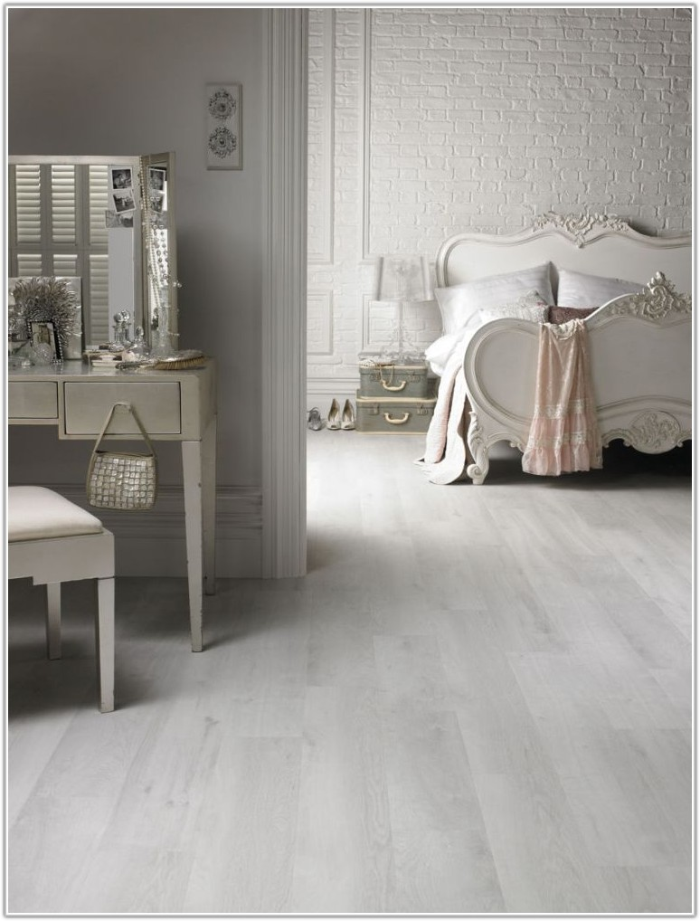 White Washed Vinyl Flooring