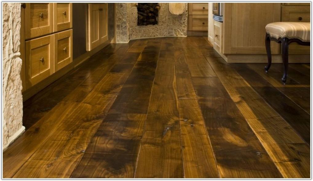 Wide Plank Distressed Hardwood Flooring