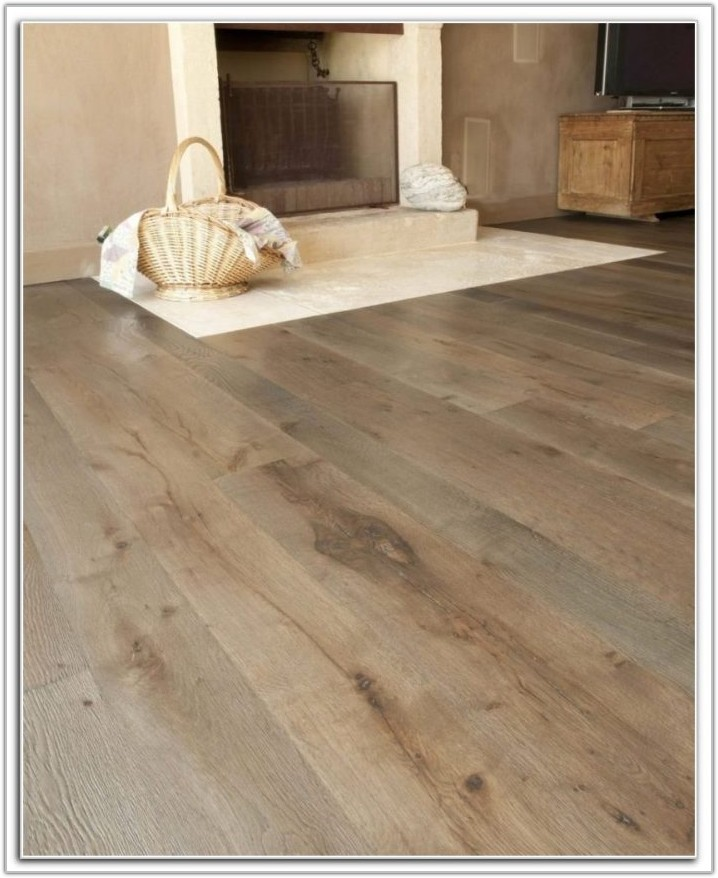 Wide Plank Engineered Flooring Grey