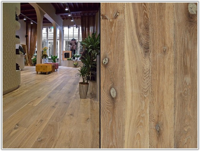 Wide Plank Engineered Oak Flooring