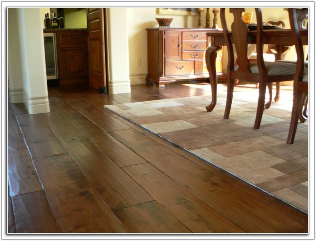 Wide Plank Hand Scraped Hardwood Flooring