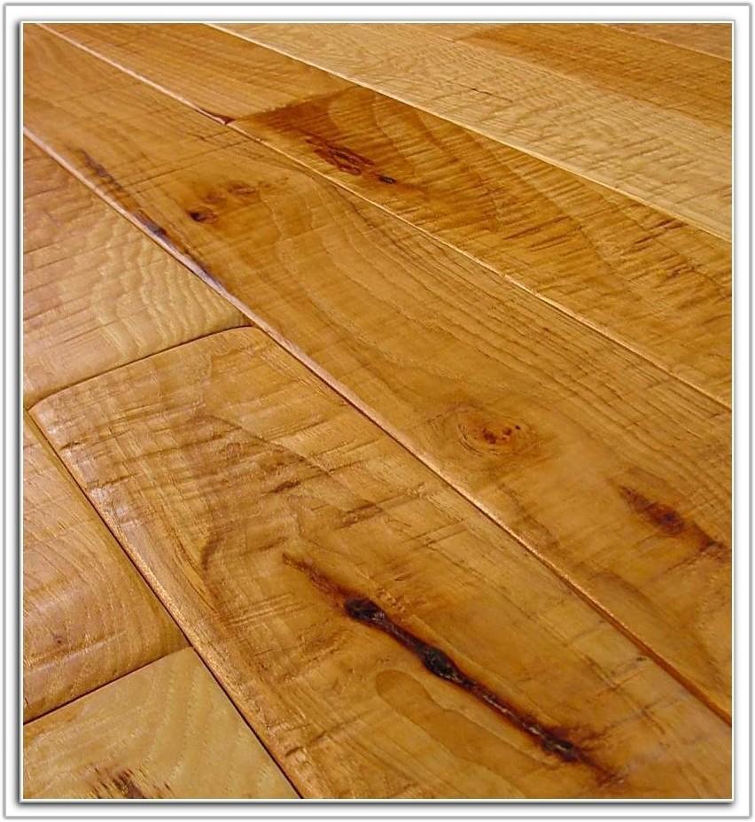 Wide Plank Hand Scraped Wood Flooring