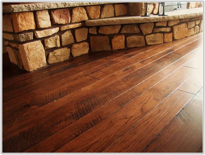 Wide Plank Hardwood Flooring Walnut