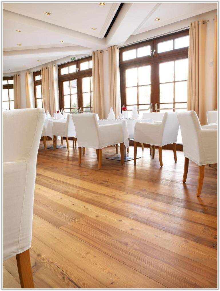 Wide Plank Natural Wood Flooring