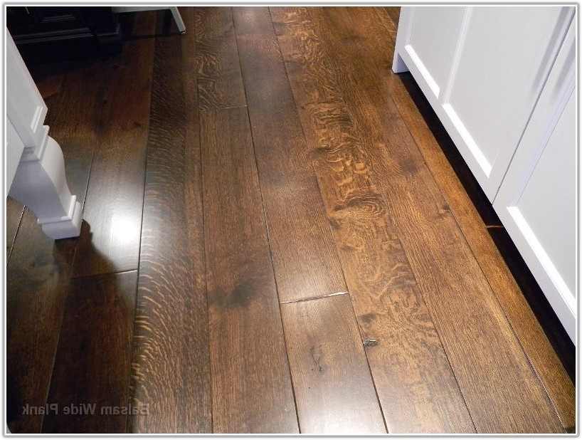 Wide Plank Quarter Sawn Oak Flooring