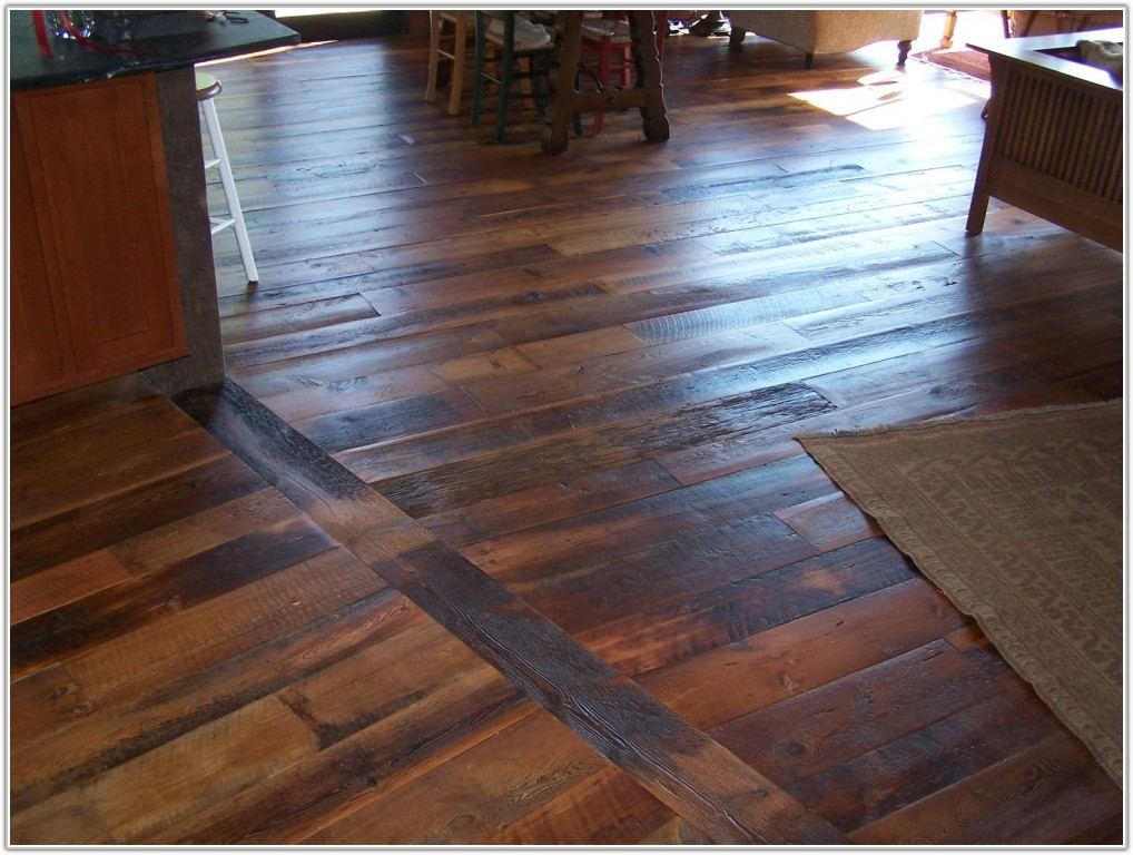 Wide Plank Rustic Oak Flooring