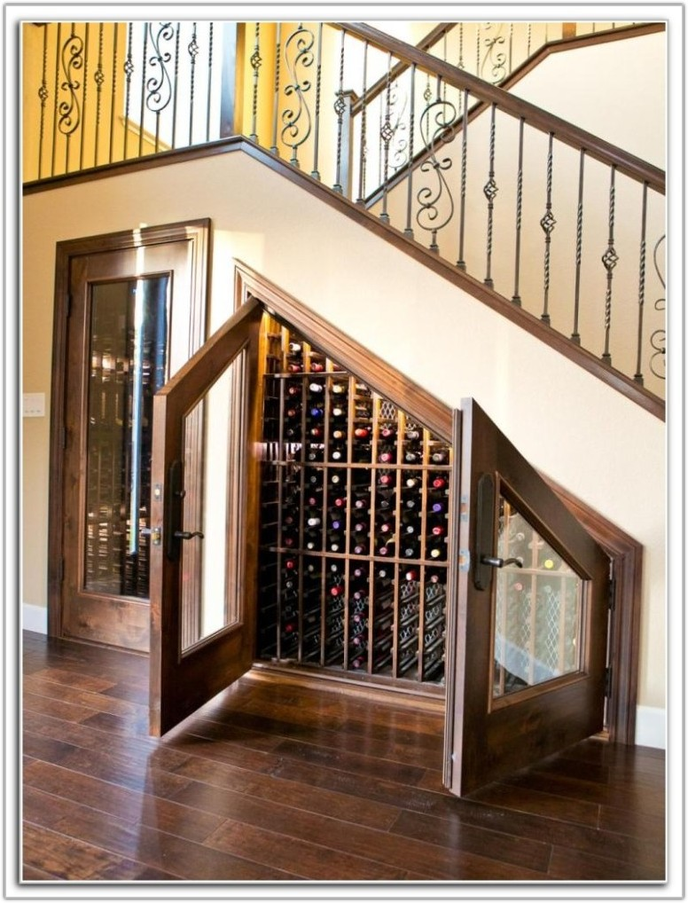 Wine Cellar Under Floor