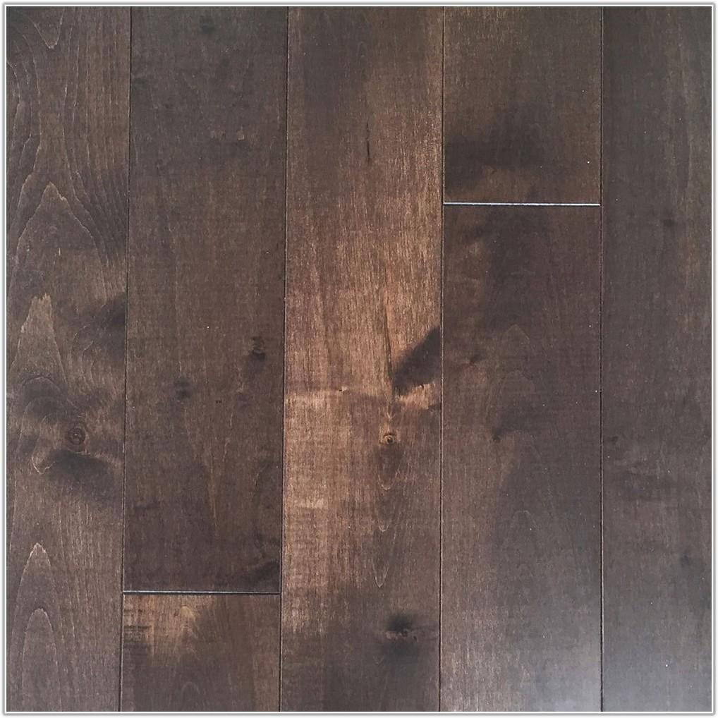 Wire Brushed Oak Coffee Flooring