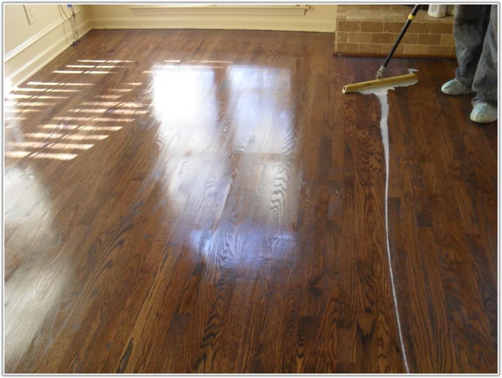 Wood Floor Refinishing Without Sanding