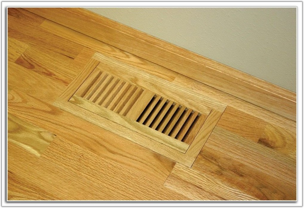 Wood Floor Registers Flush Mount