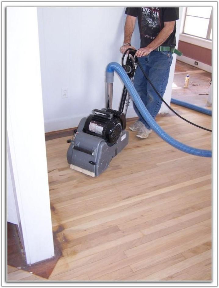 Wood Floor Sanding Machine