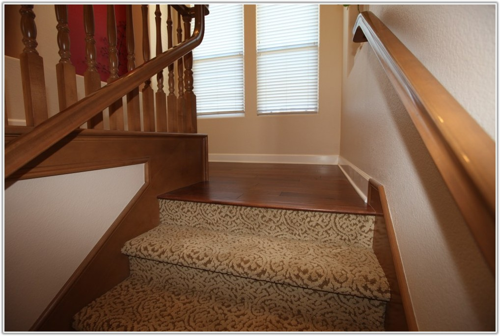 Wood Laminate Flooring On Stairs