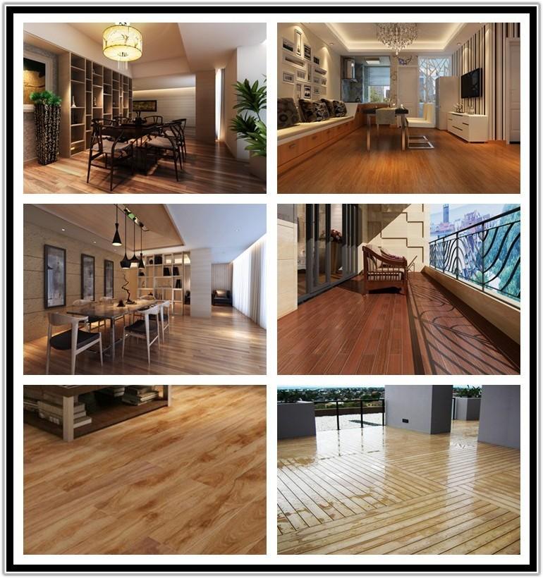 Wood Look Rubber Flooring Residential