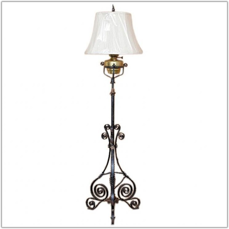 Wrought Iron Floor Lamps Adjustable